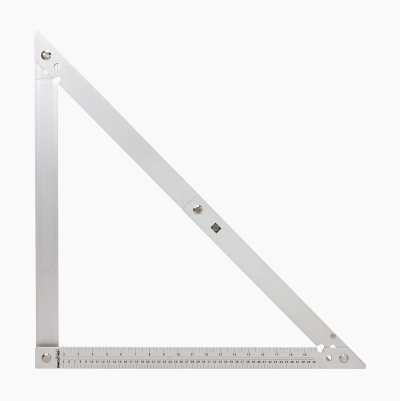 Set square, collapsible