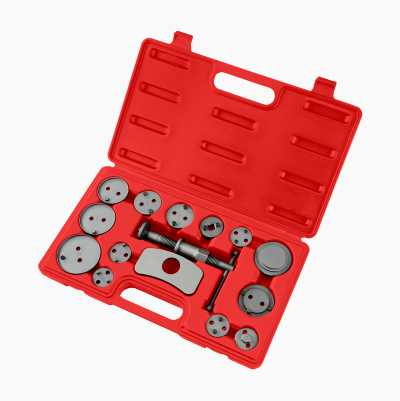 Bromskolvsverktyg, 15 delar