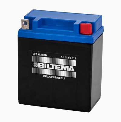 Gel batteries for motorbikes and scooters