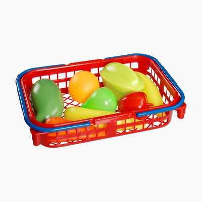 Toy Fruit Basket