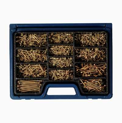 Wood screws, 1700 pcs.