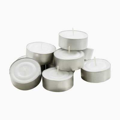 Large Tealights, 12-pack
