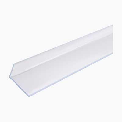 Sealing strip, transparent