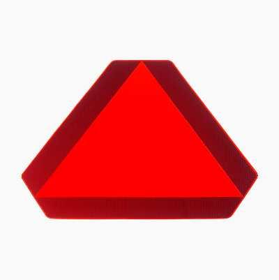 Mærkat til langsomtkørende køretøj