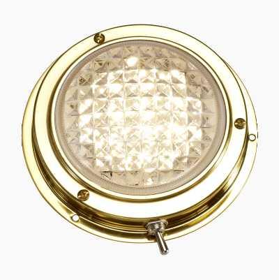 Messinkivalaisin LED
