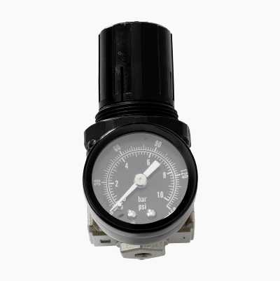 Tryckregulator med manometer