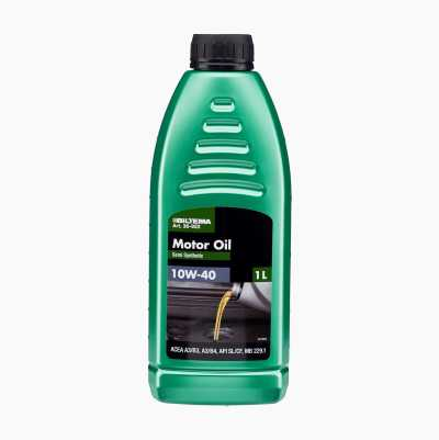 Semi-synthetic engine oil 10W-40