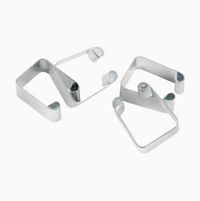 Clips for Wire Basket Unit