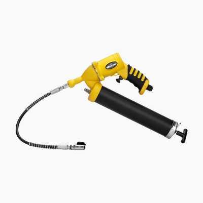 Grease pump, air-driven