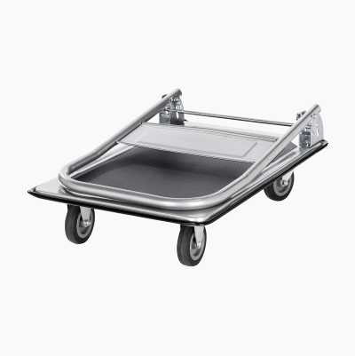 Trolley cart, collapsible