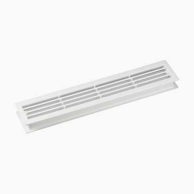 Door ventilation grill