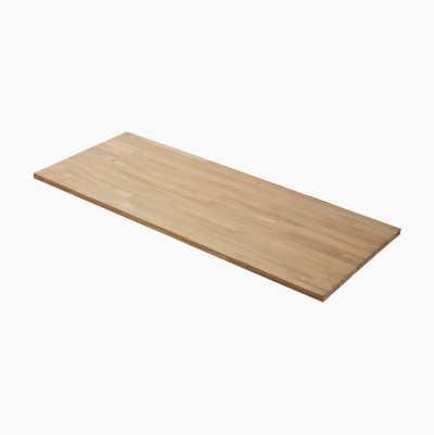 Egetræsbordplade