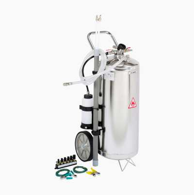 Petrol/diesel suction pump