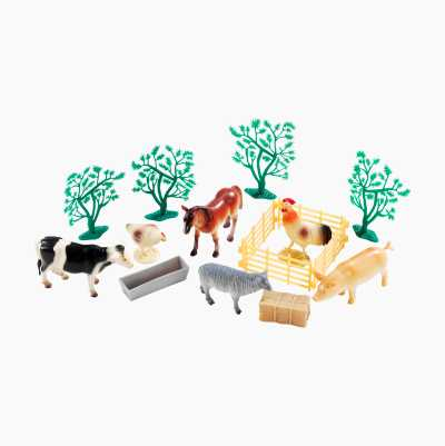 Mini Plastic Animals