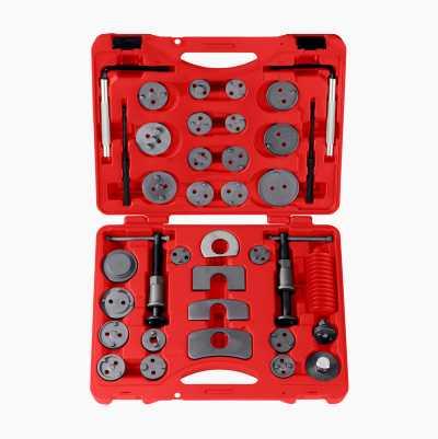 Brake Piston Tool Kit, 37 parts