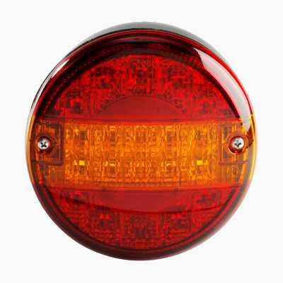 Baklykt rund LED