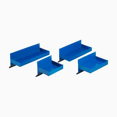 Magnetic shelving, 4 pcs