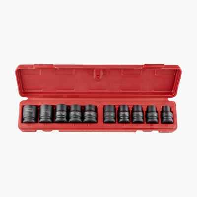 Heavy-duty socket set 1/2""