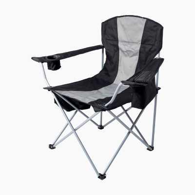 Campingstol med kjøleveske