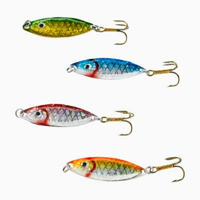 Game Fish Spoon Lures, 4-pack