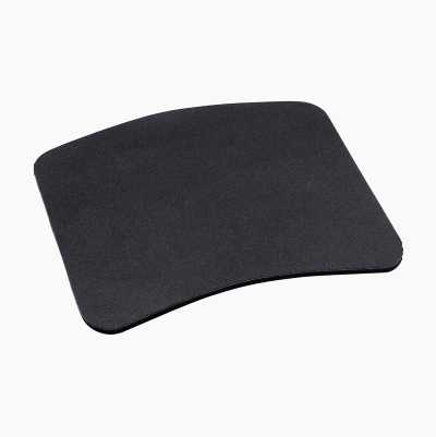 Mouse mat, rubber.