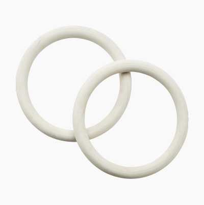Rubber rings for tarpaulins, 2-pack