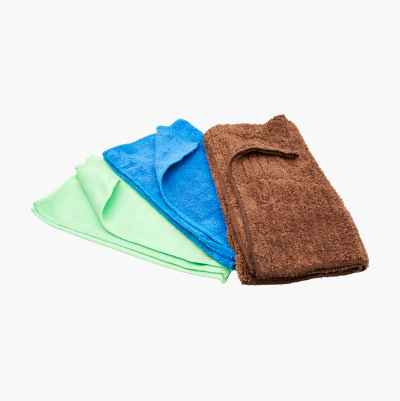 Microfibre Cloth, 3-pack