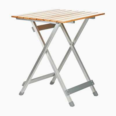 Camping table, collapsible
