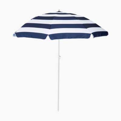 Aurinkovarjo uimarannalle