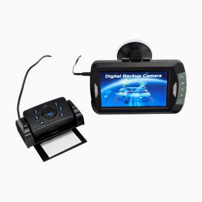 Rear view camera, digital
