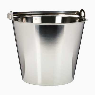 Stainless bucket, 10 l