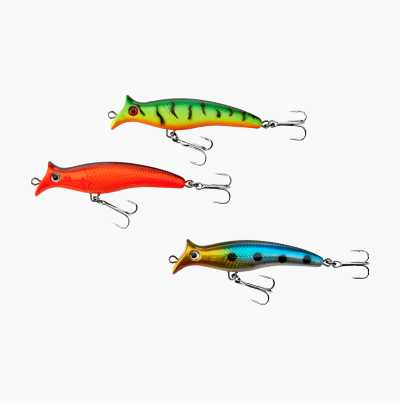Pike wobbler, 3-pack