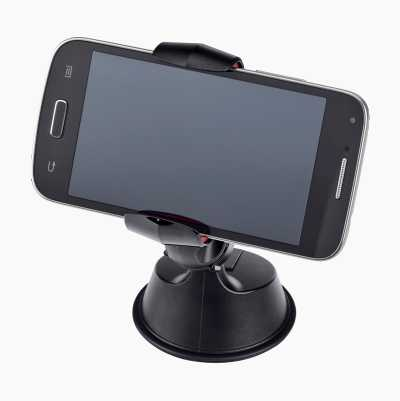 Universal holder for mobile phones, etc.