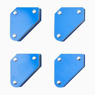 Magnetic set square, mini, 4 pcs.