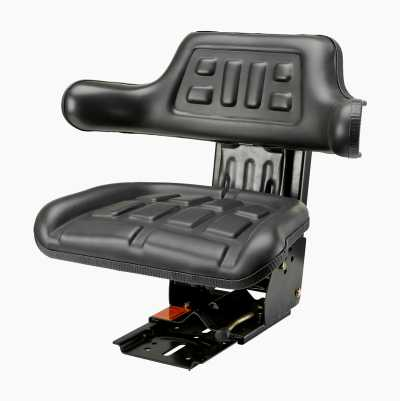 Replacement Seat with Armrest and Spring
