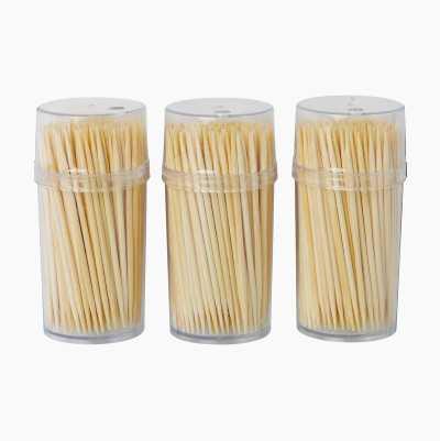 Toothpicks, 3 x 200-packs