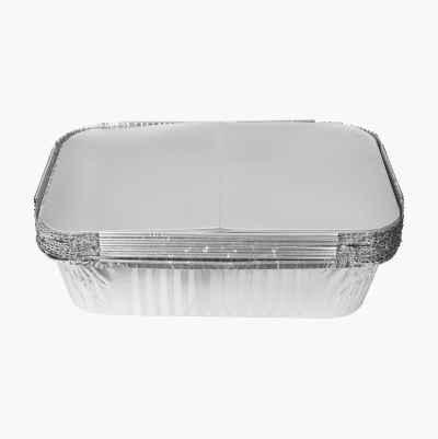 Aluminium Baking Pans, 10 pcs