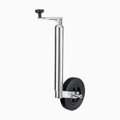 Stödhjul med broms