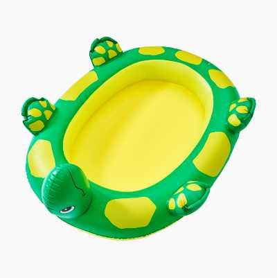 Badebassin med form som en skildpadde