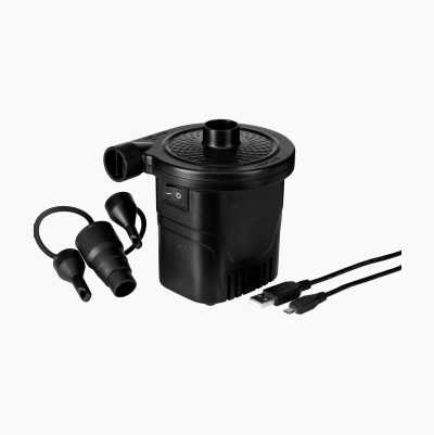 Electrical air pump, rechargeable