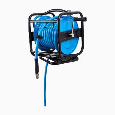 Hose reel 360°, compressed air