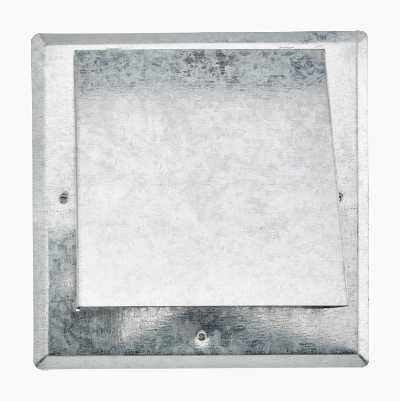 Ventilation grille, shoulder connection, storm cover