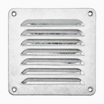 Ventilation grille, screw mounting