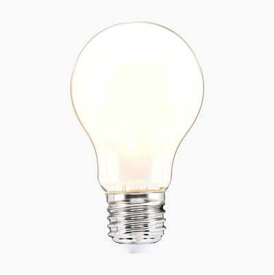 Normallampa E27, frostad