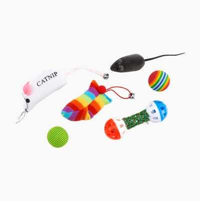 Kattleksaker kit