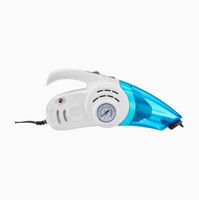 Bilstøvsuger med kompressor