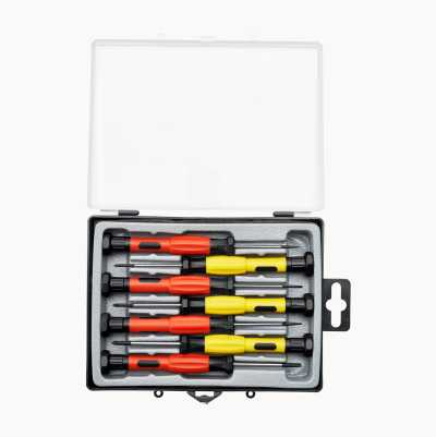 Precision Slot/Phillips Screwdriver Set, 7 pcs.