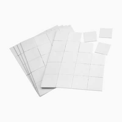 Self-adhesive fastening pad, double-sided, 200 pcs.
