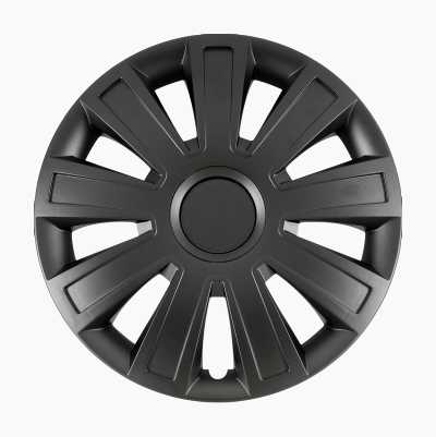 Hubcaps Satin Black, 4 pcs.