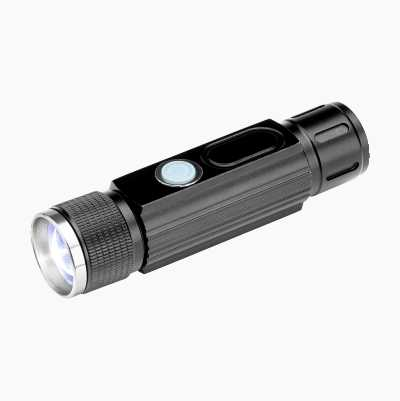 Rechargeable work torch with magnet.